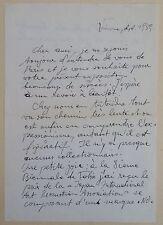 HANS STAUDACHER ABSTRACT WORKS AUSTRIA / AUTHENTIQUE CORRESPONDANCE FRANCE 1959