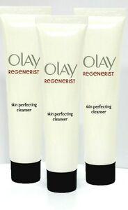 3x Olay Regenerist Skin Perfecting Cleanser, 3x 20ml (60ml Total), Brand New