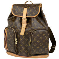 Louis Vuitton Sac a de Bosphore Day bag backpack Backpack Monogram Brown M40...
