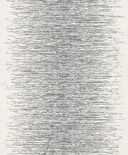 Vlies Tapete rasch Deco Style 413809 Streifen Struktur Glanz weiß silber