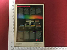 DOD effects units 1982 advert - pedal pedals Phasor Wah Filter Delay Flanger etc
