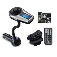 FM Transmitter Bluetooth Hand-free Car Kit Wireless Charger MP3 Player For Phone