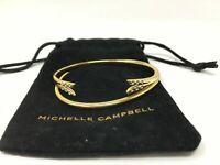 Michelle Campbell Gold Talon Bracelet Set One Size Gold NEW