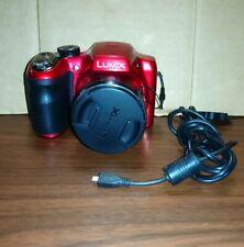 Panasonic LUMIX DMC-LZ30 16.1MP Digital Camera - RED