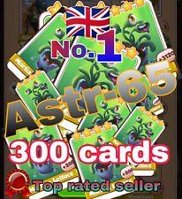 Coin Master :-) 300x Martian Lettuce Card- Lighting Fast Sending Speed