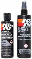 K&N Filter Recharge Clean and Oil Kit (Black) 99-5050