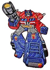 """Transformers Optimus Prime 4 1/8"""" Tall Embroidered PREMIUM QUALITY Patch"""