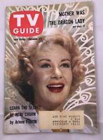 September 3 1960 TV Guide ARLENE FRANCIS Peter Brown Lawman BOB NEWHART PITT