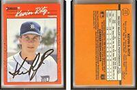 Kevin Ritz Signed 1990 Donruss #415 Card Detroit Tigers Auto Autograph