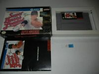 SUPER BASES LOADED 1 SUPER NINTENDO COMPLETE