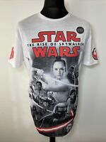 Disney Star Wars The Rise of Skywalker White T-Shirt Tee L Large NEW TAGGED