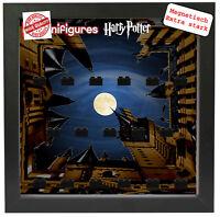Magnetischer Vitrine für LEGO Minifiguren Motiv Harry Potter Pic1