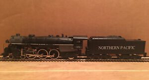HO Mantua Northern Pacific 4-6-2 Powered Steam Locomotive NP #2256 DC/DCC SOUND