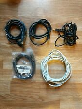 Lot Of (5) Cables USB-A MALE to USB-B MALE USB 2.0 - Printer - Various Lengths