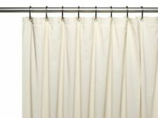 "Beige Vinyl Shower Curtain Line: with Grommets and Magnets 70"" x 72"""