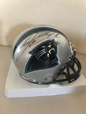 Steve Smith Signed Carolina Panthers Mini Helmet PSA/DNA K99701
