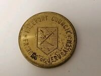 Vintage Masonic Scottish Rite Bodies Token, Freeport, Illinois