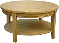 More than 200cm High Oak Round Coffee Tables