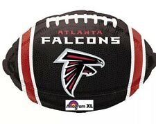 5 New Atlanta Falcons Nfl mylar helium 18 Inch Mylar Balloons