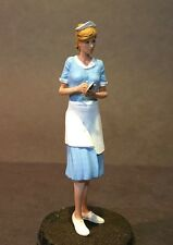 1/24 1/25 or G  75mm Scale Resin Model Kit, Sexy action Figure Irene waitress