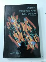 Enzyme Structure And Mechanism - Alan Fersht (1985, Hardcover)