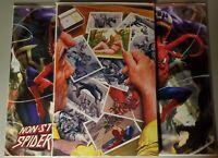 Non-Stop Spiderman #1 Derrick Chew Exclusive Trade/Virgin Set + 1:200 Ratio Ince
