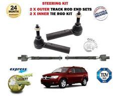 Für Dodge Journey 2008> Neu 2 X Außen + 2 X Innere Spurstange Träger Enden