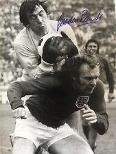 12x16 Foto mano firmada por Inglaterra Copa Del Mundo 1966. héroe Gordon Banks