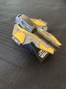 Star Wars Jedi Starfighter Titanium Series Die-Cast Toy Cool Fun