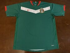 06463dcafdd Rare Vintage Nike Mexico 2006 World Cup Futbol Soccer Jersey