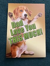"""Leanin' Tree Father's Day Card """"Dad Love You..."""""""