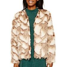 NEW - Decree® Faux-Fur Jacket - Sz. LARGE