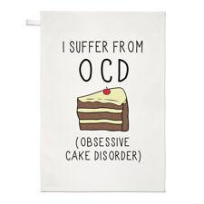 ATTACCHI di sonno, panelli di disordine OCD TEA ASCIUGAMANO dish cloth-CIBO BUFFO