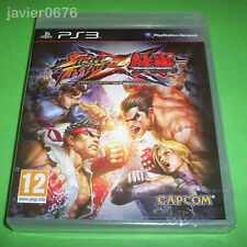 STREET FIGHTER X TEKKEN NUEVO Y PRECINTADO PAL ESPAÑA PLAYSTATION 3 PS3