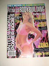 Vintage Women's Fitness & Bodybuilding Magazine,Strength+Sensuality,#4,Jan.,1997