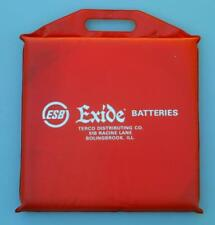 Vintage Exide Batteries Advertising Seat Cushion