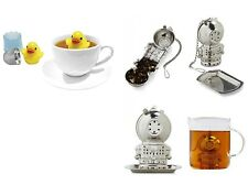 g8 Floating Duck and Jacques Deep Sea Diver Tea Infuser Stainless Steel Net