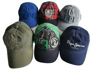 Pepe Jeans Junior cap, various colours, size Small or Large
