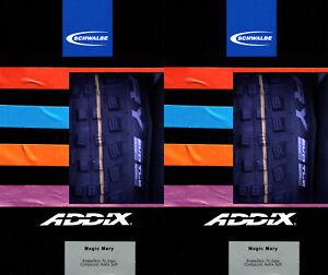 2x Schwalbe Magic Mary Addix Soft HS447 Freeride Trail Enduro MTB Reifen