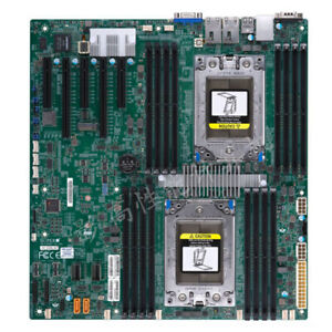 Supermicro H11DSi Motherboard Socket SP3 240W TDP for Dual AMD EPYC 7001/7002