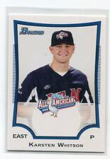 KARSTEN WHITSON 2009 Bowman Aflac #AFLAC-KW ROOKIE Hot! Florida Gators