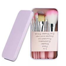 7Pcs Brushes Set Powder Foundation Eyeshadow Eyeliner Lip Brush
