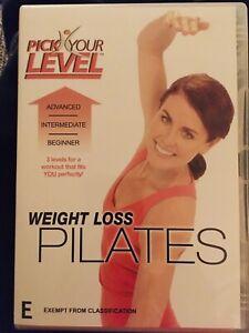 Weight Loss Pilates With Fitness Expert Ellen Barrett DVD Excellent Condition
