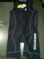 Nwt Astek Mens Hillcrusher 2Xl Triathlon Suit Black Sleeveless