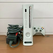 Microsoft Xbox 360 White Video Gaming Console System Includes Controller & Cords