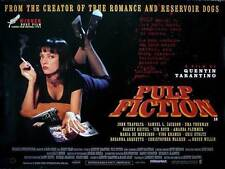 PULP FICTION Movie POSTER 11x17 UK John Travolta Samuel L. Jackson Uma Thurman