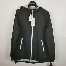 Cole Haan Women Grand.OS Rain Jacket Packable Black L