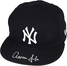 New York Yankees Baseball MLB Original Autographed Hats