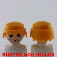 27016 Playmobil Lot de 2 Cheveux Femmes Jaunes Modernes Chignon