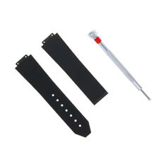 25MM Replacement Rubber Strap Band FOR HUBLOT BIG BANG FUSION+Screwdriver set